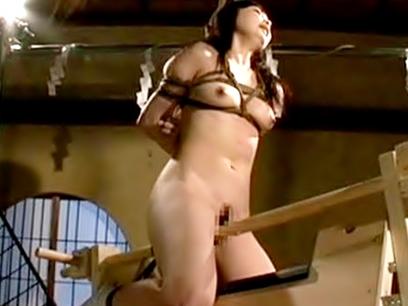 ◆◆美少女悶絶・・・・芹沢つむぎ◆◆いっだぃぃーーーーーー♬木馬責め&強力拘束に痛め付けられるカイラク覚醒だぜvvvvvvvvv
