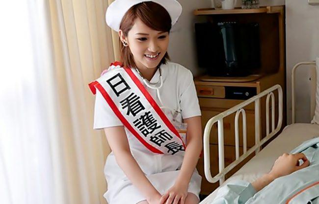 ◆◆椎名そら****白衣の天使、じゃなくてドS娘登場◆◆入院患者さんの濃厚ザーメンを剥きまくっちゃうよwwwwwwwwwwww