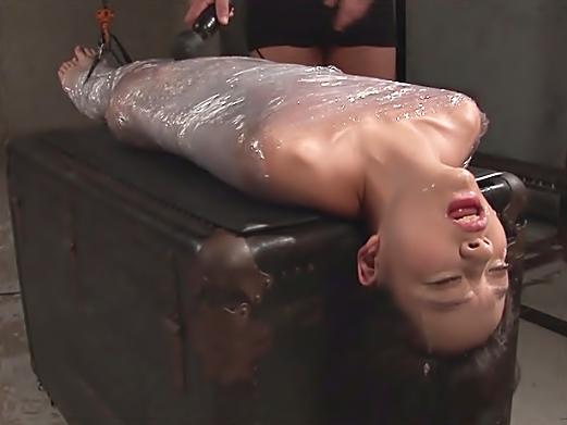 ◆◆あべみかこ、、、、ヤバイやつ♬死ぬぜ之◆◆皮膚呼吸も困難なサランラップ責め+イラマチオ⇒⇒/真生崩壊しちまうぜwwwwwww