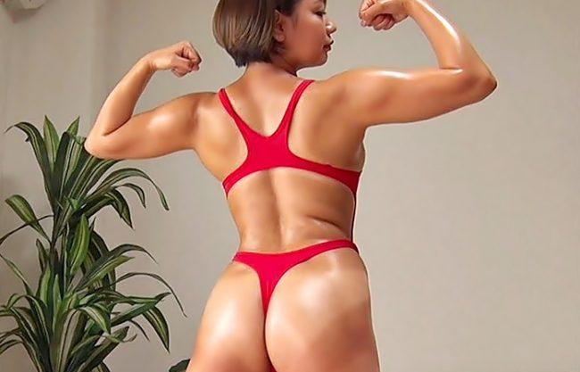 《筋肉粒々・・・・抱かれてぇ(^^♪》流石スポーツマ●コ絶倫発揮のハードファックだぜwww