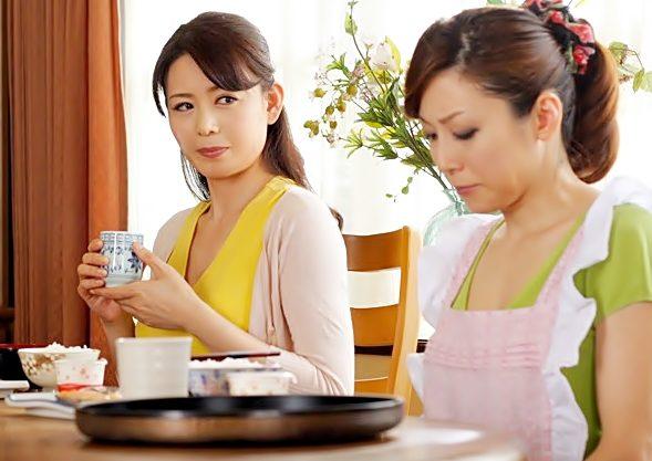 義理ママ…完全肉食開眼『白木優子/三浦恵理』若ママを熟々マ〇コがレズの快感を調教しちまったwwwww