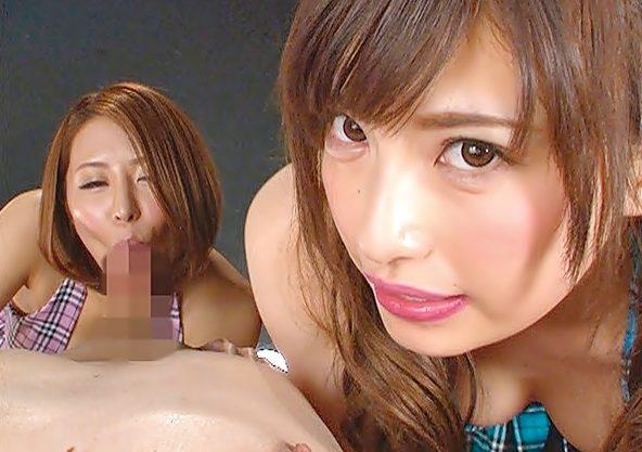 『早川瑞希/枢木みかん(^^♪』ザーメンタンク空にしたげる♡完全ド痴女にダブルで襲われるって最凶wwwww