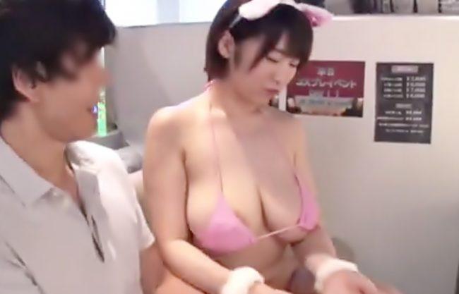 規格外オッパイ嬢の裏オブってスゴ♡『松本菜奈実(^^♪』垂れ気味だけどサイズは何とJカップちゃんにイタズラしようぜwwww
