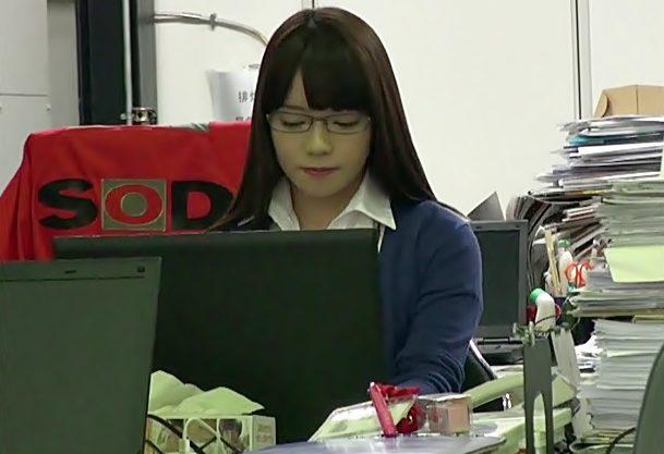 SOD女子社員…衝撃デビュー『中原愛子(^^♪』JKよりも初心?な童顔娘の赤面ファックをお楽しみください。wwwww