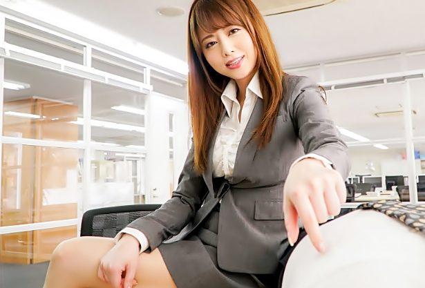 チンポ汁抜いてあげる♡『吉沢明歩(^^♪』完全妄想!S級お姉さんに職場で昇天さされるって…最凶だぜwwww