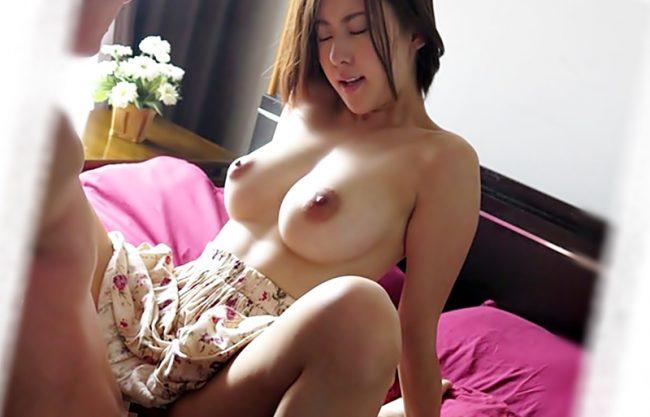 らめぇーーーー逝くのーーー♡『松下紗栄子(^^♪』パパと違った他人棒の激しいセクロスに巨乳ママ覚醒しちまったwwwww