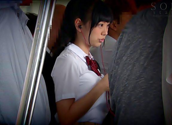 へへへ!!デカパイお嬢ちゃん発見『桐谷まつり(^^♪』危険に発育しちまった制服ちゃん無防備ノーブラ姿を汚されちゃうぜwwww